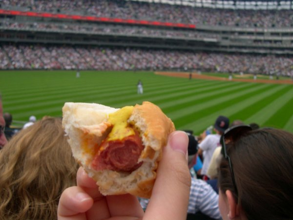 Dollar Hot Dog Day At Sox